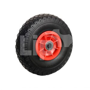 Skelterwiel anti lek rode velg 3.00-4 (260×85)