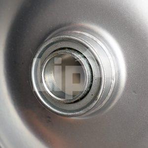 Kogellager in grijze metalen velg 20 mm