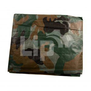 Camouflage afdekzijl 2 x 3 meter