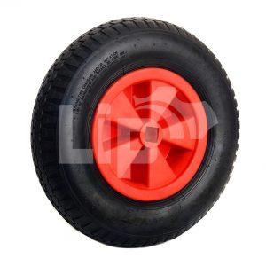 Vrijloop wiel 25 x 25 mm vierkante as