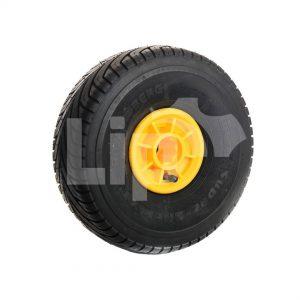 Super-slick geel 300/105-4 2 cm rond en 3 cm vierkante as