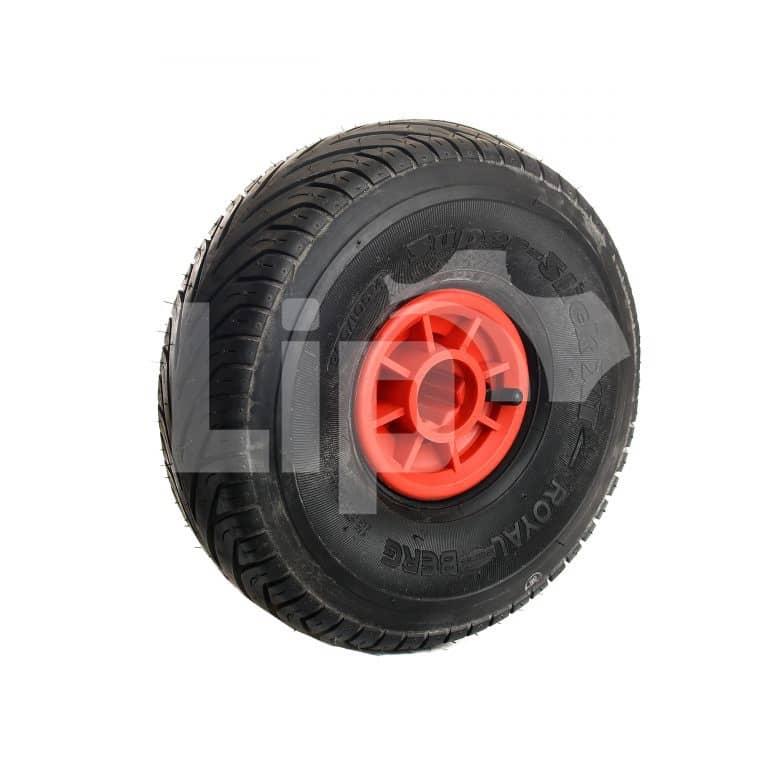 Bergskelter aandrijfwiel 30 x 30 mm Slick 3.00/105-4 rood