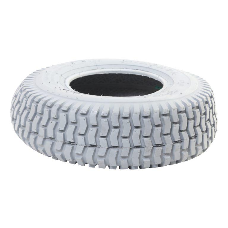 Scootmobiel band 13×5.00-6 Grijs blokjes profiel