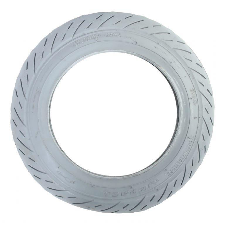 Scootmobielband 3.00-8 (350×70) Grijs Puncture Protection