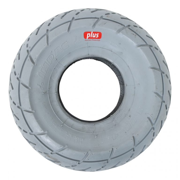 Scootmobiel buitenband 3.00-4 grijs Puncture Protection