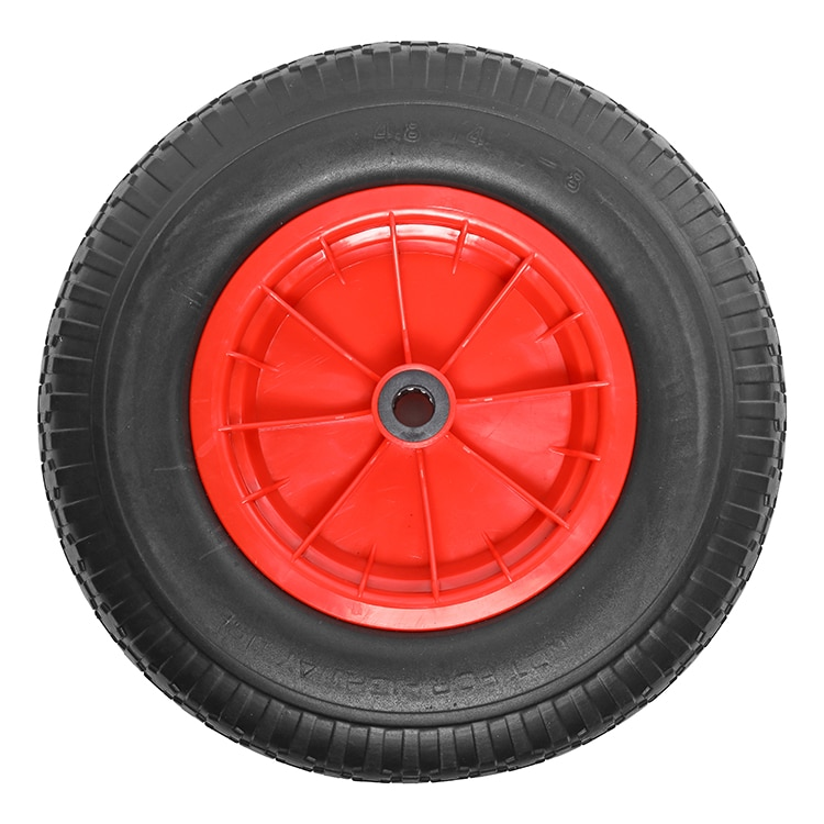 Anti-lek boottrailer / skelter wiel 4.00×8 platte spaak